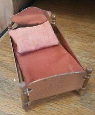Vintage Hammered Copper Dollhouse Bed