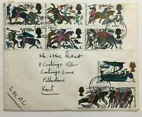 1966 Battle Of Hastings First Day Of Issue FDI - Folkestone Kent