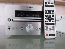 Yamaha Pianocraft CD-Receiver CRX-332, silber + Fernbedienung in OVP - wie NEU