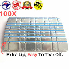 100 PCS - 5/10g Stronger Tape NO COME OUT  Stick on Wheel balance Weights