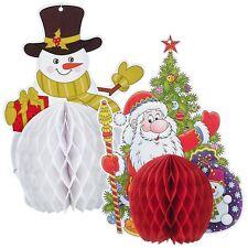 Navidad Hogar Techo Decoración Papá Noel Muñeco de Nieve Árbol Colgante