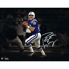 Peyton Manning Indianapolis Colts Signed 16x20 Spotlight Photo Fanatics COA
