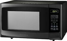 Insignia- 0.9 Cu. Ft. Microwave - Black