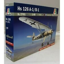 Italeri 1:48 2701 HS 126 A-1/B-1 Model Aircraft Kit