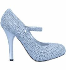 Evening & Party Patternless Mary Janes Synthetic Heels for Women