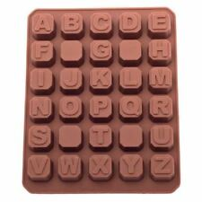 Alphabet Sugarcraft and Chocolate Moulds for Cake Decorating
