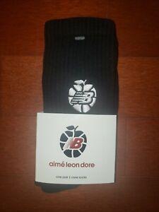 New Balance X Aime Leon Dore Collab New York Apple Mens Basketball Crew Socks