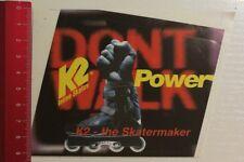 Aufkleber/Sticker: K2 Inline Skates (29031735)