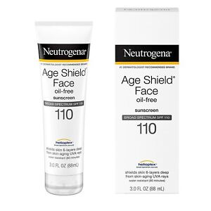 Neutrogena Age Shield Face Lotion Sunscreen with Broad Spectrum SPF 110,...