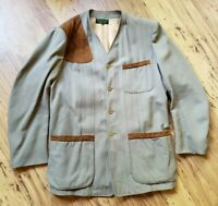 Abercrombie & Fitch Shooting Jacket Vintage Sz 40