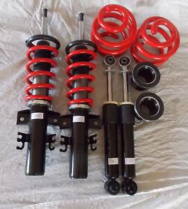 VW T5-T6 T26-28-30 Bluebird Customs coilovers suspension kit 45mm-120mm drop