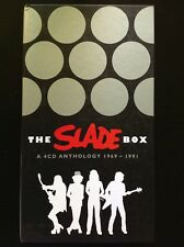 THE SLADE BOX Collector's Edition NUOVO 4 CD