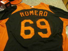JC Romero 2013 Baltimore Orioles Game Used BP Jersey RARE MLB Authenticated