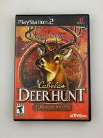 Cabela's Deer Hunt 2004 Season - Playstation 2 PS2 Game - Tested