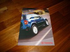Toyota RAV4 Zubehör Prospekt 08/2002