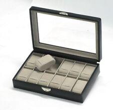 Davidt's noir verrouillable douze watch box DAV367 844 01