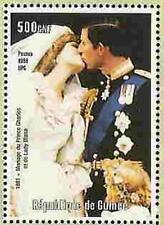 PRINCESS DI -  2 Memorial Stamp Sheets  -  Guinea Eifel