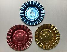 International Harvester IH Logo Advertising Metal Ashtrays lot of 3 - 1983