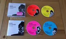 Rod Stewart Storyteller Anthology Euro 4CD Set Classic Rock Pop Ex Cond