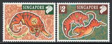 SINGAPORE MNH 1998 SG914-15 Chinese New Year - Year of the Tiger