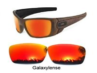 Galaxy Replacement Lenses For Oakley Fuel Cell Sunglasses Prizm Red Color