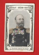 RUSSIA RUSLAND CAPTAIN ROUDNIEFF WITH MEDAL VINTAGE CARD 626