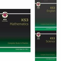 CGP Books - New KS3 Maths Complete Study andamp; Practice (with Online Edition)