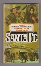 Santa Fe Stagecoach Station, No. 6 by Mitchum, Hank 1983 paperback