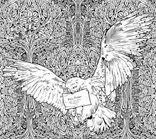 "New Harry Potter Flying Owl Coloring Poster 24"" x 36"""