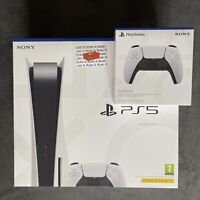 Sony Playstation 5 Five PS5 Disc Edition Console 🎮 IN HAND,W/ EXTRA CONTROLLER✅