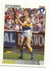 1993 AFL SELECT WEST COAST EAGLES GUY McKENNA CARD # 13