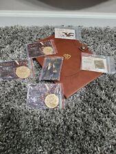 Weta Workshop Hobbit Coins and Pins Lotr/Hobbit Smaug, Bilbo, Shire