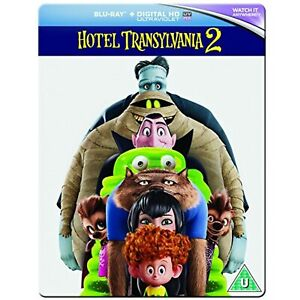 NEW Sealed Hotel Transylvania 2 (Steelbook) [Blu-ray] [2015] [Region Free]