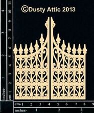 The Dusty Attic Chipboard - Mini Ornate Gate #2