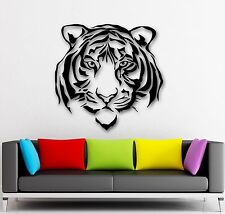 Wall Stickers Vinyl Decal Beautiful Tiger Predator Animal Tribal Decor (ig580)