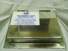 CONEX 10x7 INDUSTRIAL PLATE MAGNET STAINLESS STEEL EQUIPMENT SAVER