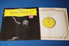 DGG SLPM 138803 Beethoven Symphonies No.4 BPO Karajan STEREO Made in Germany