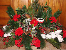 Sweetest Day Christmas Wintery Holiday Cemetery Grave Tombstone Saddle Funeral