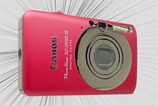 CANON SD1200 IS / IXUS 95 Redish Pink-3x Optical Zoom-12x Digital Zoom