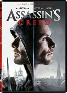 Assassin's Creed (2016 Michael Fassbender) DVD NEW