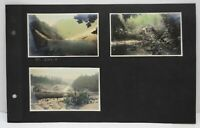 3 1920's Mt Baker National Forest Mt Index Tinted Washington State Photos Vtg