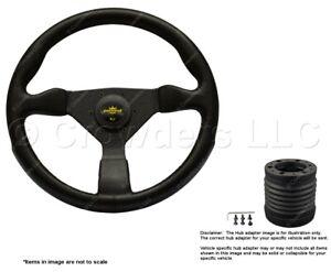 Nardi Grinta 350mm Steering Wheel + MOMO Hub for Volvo 780 8430.35.2001 + 9011