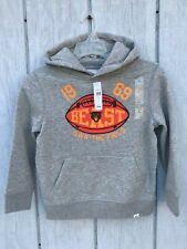 NEW Gap Kids Hoodie S 6-7 BEAST Football Fleece line Boys Clothes 6T 7