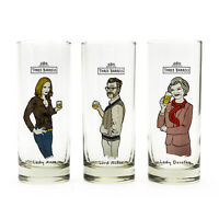3 Barrels Brandy 9 Glass Set Official Characters Branded New Home Brew Drink
