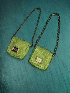 SAMPLE PROTOTYPE?*MOD INSPIRED PURSES*LOT OF 2*COLLECTOR EDITION*BARBIE