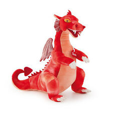 Peluche Drago  rosso Trudi 40cm Top quality made in Italy