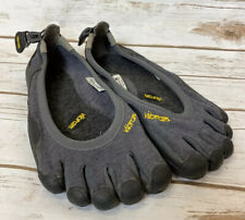 Vibram Fivefingers Smartwool Men's Black Shoes Sz 43 Gray Black US 9.5 - 10