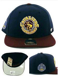 Cleveland Cavaliers New 47 brand Sure Shot Blue Wine Red Era Snapback Hat Cap