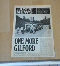 Old Motor Newspaper No 53