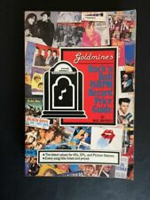 Goldmine Value Guide, 1987, Rock N Roll 45RPM Price Guide-Vintage Ex. Cond